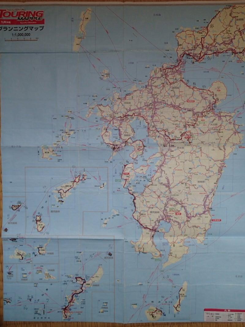 $歩き人ふみの徒歩世界旅行 日本・台湾編-九州歩きルート図