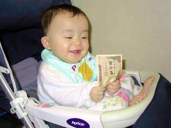 「赤ちゃん お金」の画像検索結果