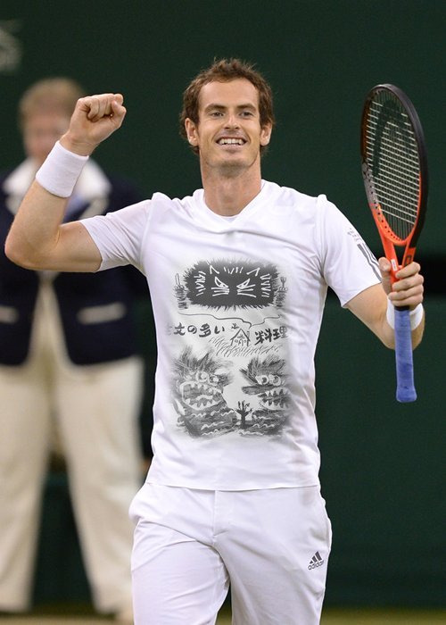 山猫合奏団 Virtual Advertisement-注文with Andy Murray