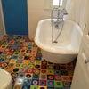 子供部屋のバスルームが可愛い!の画像