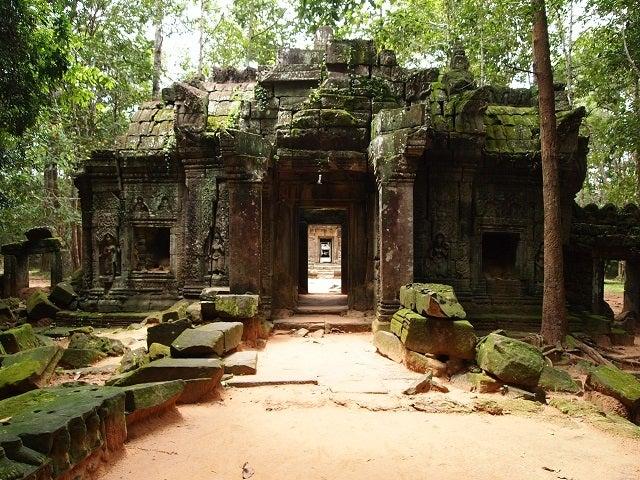 カンボジア遺跡の魅力 プリヤ・...