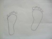 アトリエ エムズ-baby足型トレーシング