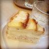 プリンがのったケーキ(≧∇≦)の画像