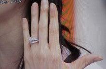 ネットでジュエリー買っちゃった♪ -友利新 ショーメ 婚約指輪 芸能人
