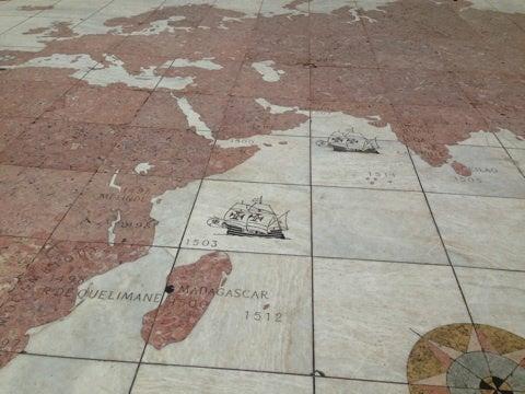 エンリケ航海王子記念碑と世界遺産
