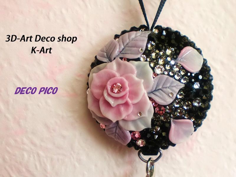 3DアートデコショップK-Art【 スマホケース デコ (スマホデコ) デコ電】-女性へのプレゼント ギフト 贈り物 女性用