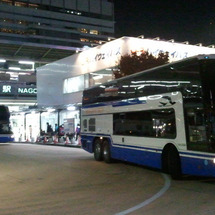 夜の名古屋駅
