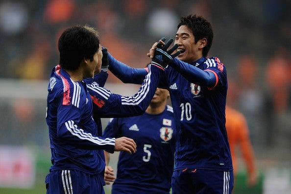 本田圭佑 香川真司 内田篤人 サッカー 日本代表 オランダ 引き分け