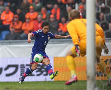 長友佑都 サッカー 日本代表 オランダ 引き分け