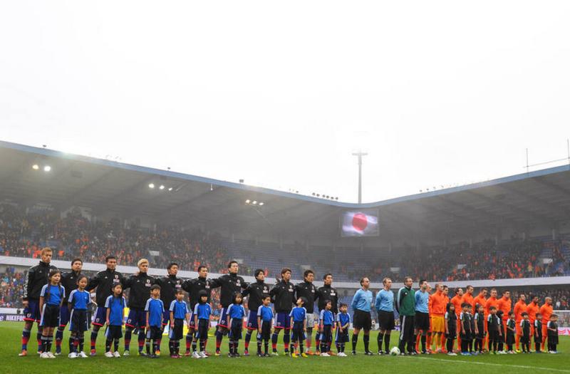 サッカー 日本代表 オランダ 引き分け