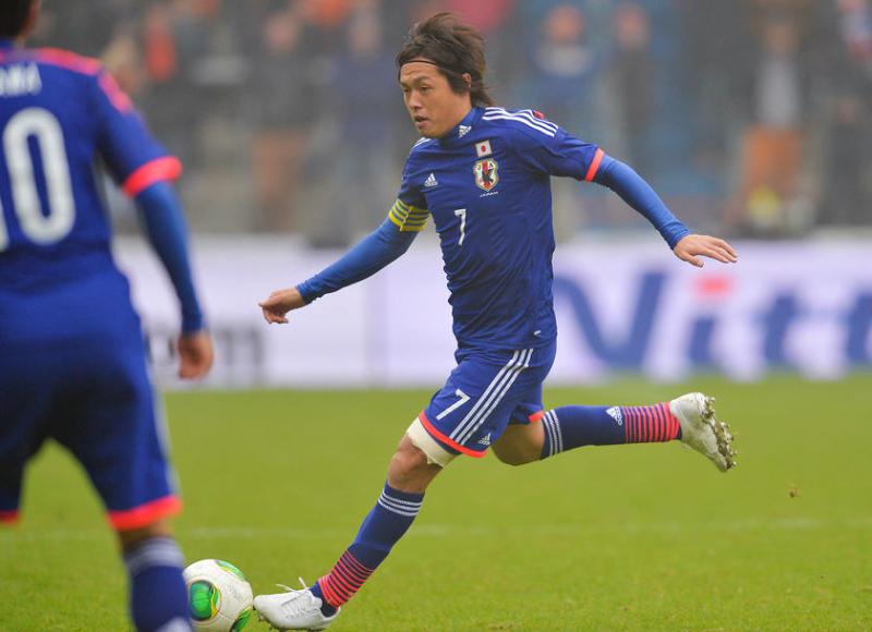 遠藤保仁 サッカー 日本代表 オランダ 引き分け