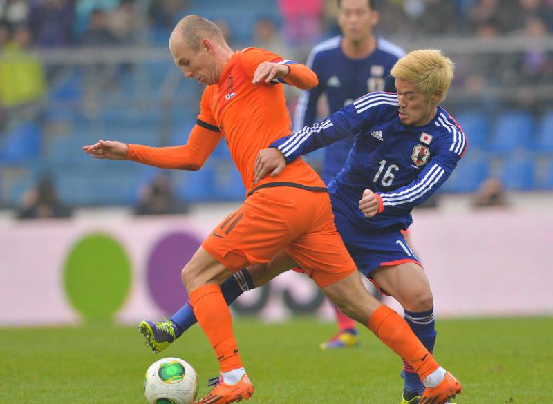 山口螢 サッカー 日本代表 オランダ 引き分け