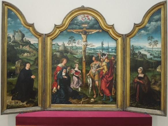 キリスト磔刑と最後の審判