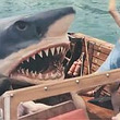 サメ v.s 鹿