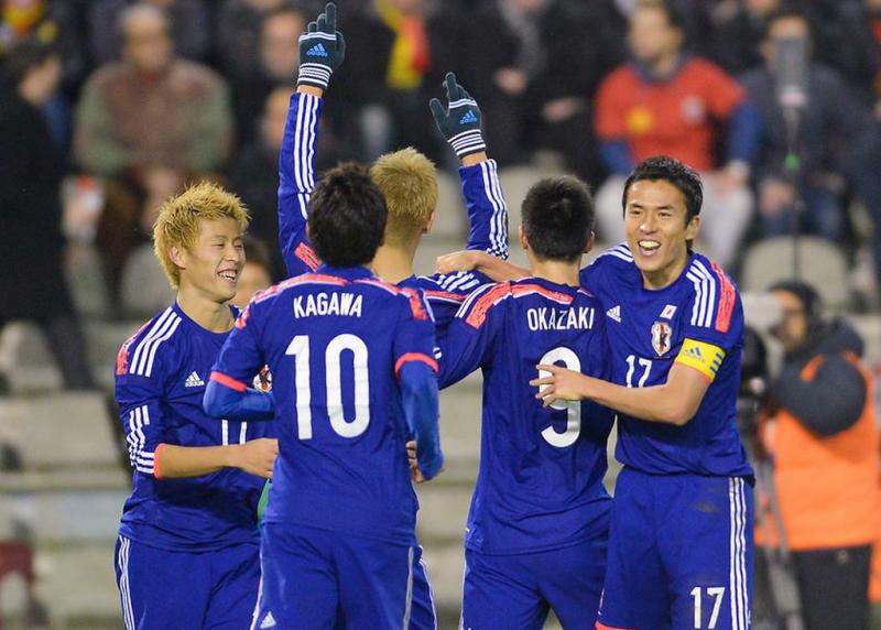 長谷部誠 本田圭佑 サッカー 日本代表 ベルギー戦 逆転勝利
