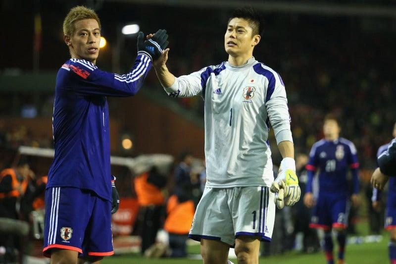 本田圭佑 川島永嗣 サッカー 日本代表 ベルギー戦 逆転勝利