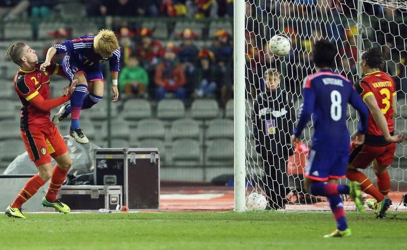 柿谷曜一朗 サッカー 日本代表 ベルギー戦 逆転勝利