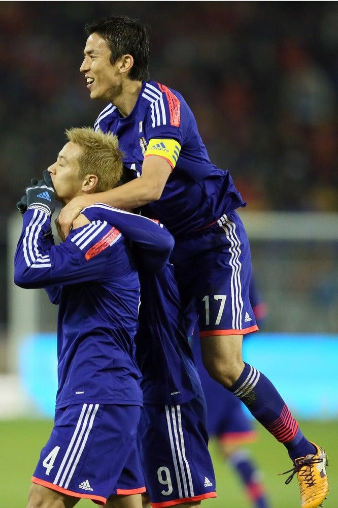 本田圭佑 長谷部誠 サッカー 日本代表 ベルギー戦 逆転勝利