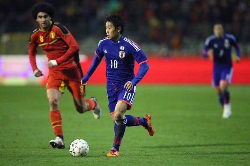 香川真司 サッカー 日本代表 ベルギー戦 逆転勝利