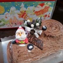クリスマスケーキ作り…