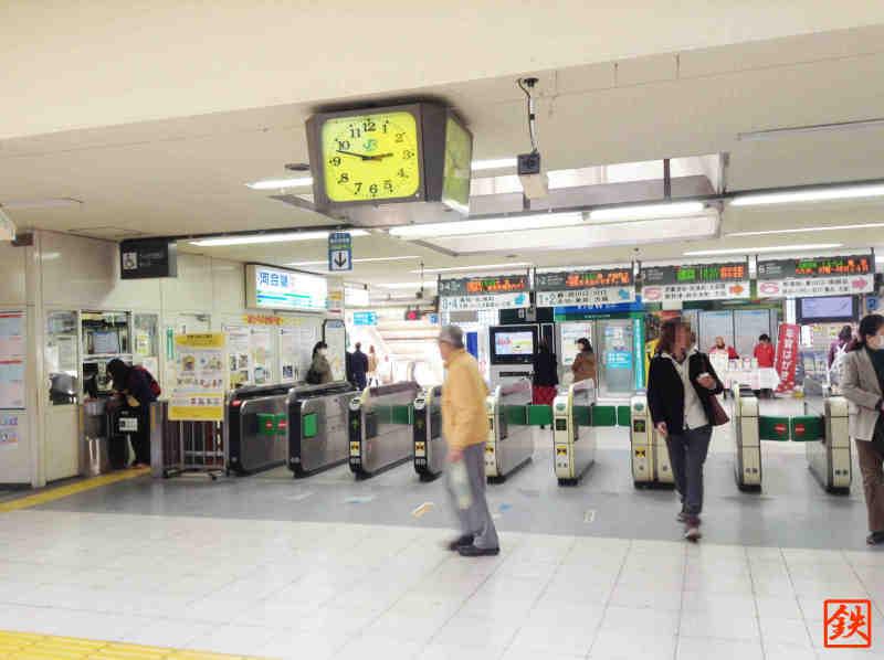 南浦和駅改札