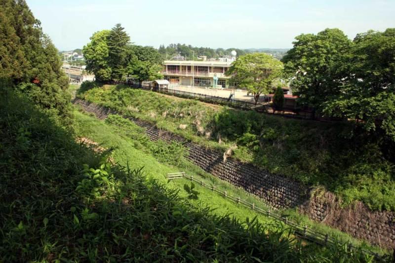 大胡城/本丸から見た北側