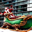 サンタクロースパレー…