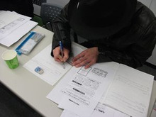 お客が集まる手書きチラシの作り方