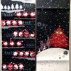 ■クリスマスの正絹京袋帯。可愛らしいサンタクロースと真っ赤なクリスマスツリー。の画像
