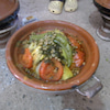 突撃モロッコ人家庭のお昼ごはんの画像