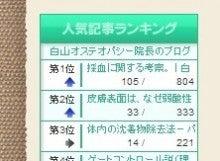 $白山オステオパシー院長のブログ  東京都文京区 白山駅より徒歩3分