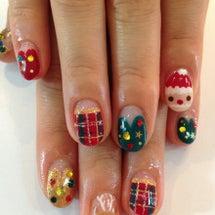 クリスマスネイル1☆