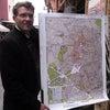 メディナ(旧市街)の地図を作ったフランス人の画像