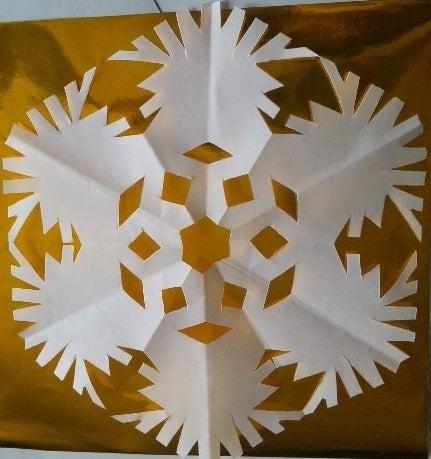 クリスマス 折り紙 雪の結晶 折り紙 簡単 子ども : ameblo.jp