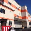 大阪の倉庫竣工式