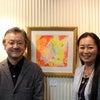 ★エンジェルカードの天使画の画家、寺門孝之先生とトークイベント行いました!の画像