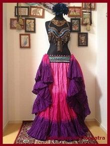 ベリーダンス衣装▽25ヤード スカート ジプシー コスチューム