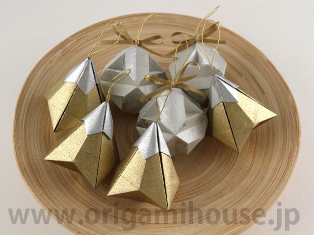 クリスマス 折り紙 折り紙 クリスマス オーナメント : ameblo.jp