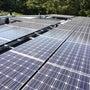 冬の太陽光発電