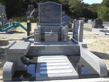 $日中貿易株式会社 墓石卸売センター-NO.021 鵯越墓園