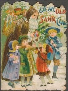 Tricolor Language-Old Santa Claus 2
