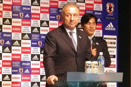 ザッケローニ監督 サッカー 日本代表 2014スケジュール 発表