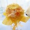 愛媛・松山市内のご結婚式用でお作りしたシェアブーケ。の画像