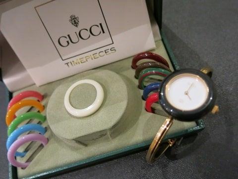 pretty nice 1ea8a 7252a GUCCI] ヴィンテージ グッチ 時計 カメレオン | 【Kio Vintage】