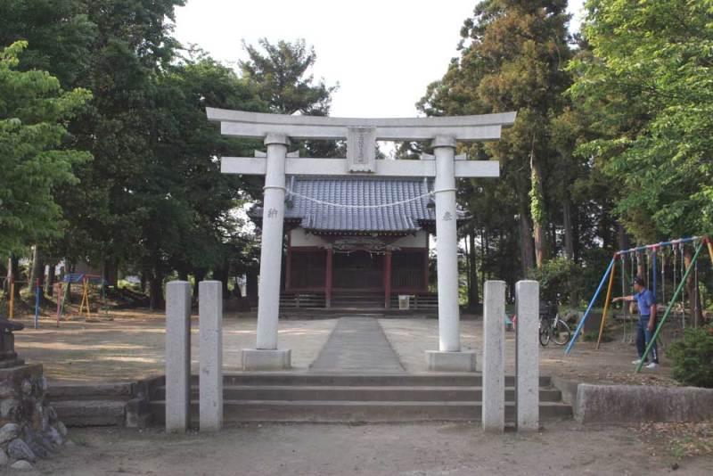 本矢場城/住吉大明神社