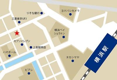 ブラックビズ 横浜店地図