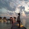 last dinner & SPA*5th day of Maldivesの画像