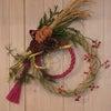 お正月のドア飾り AKI FLOWERSにての画像