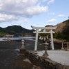和多都美神社は光に包まれる豊玉姫の眠る御陵が★対馬 長崎県の画像