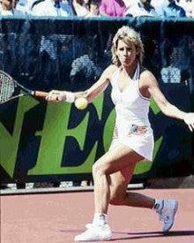 テニスプレイヤー クリス・エバート | Fujio's Lab